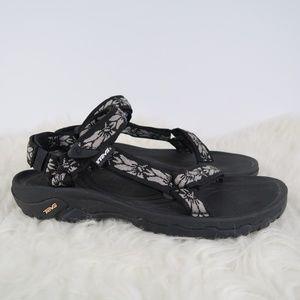 e98ae12b1c50f Teva Shoes - Women s TEVA Hurricane XLT Black Sandals 11 11.5